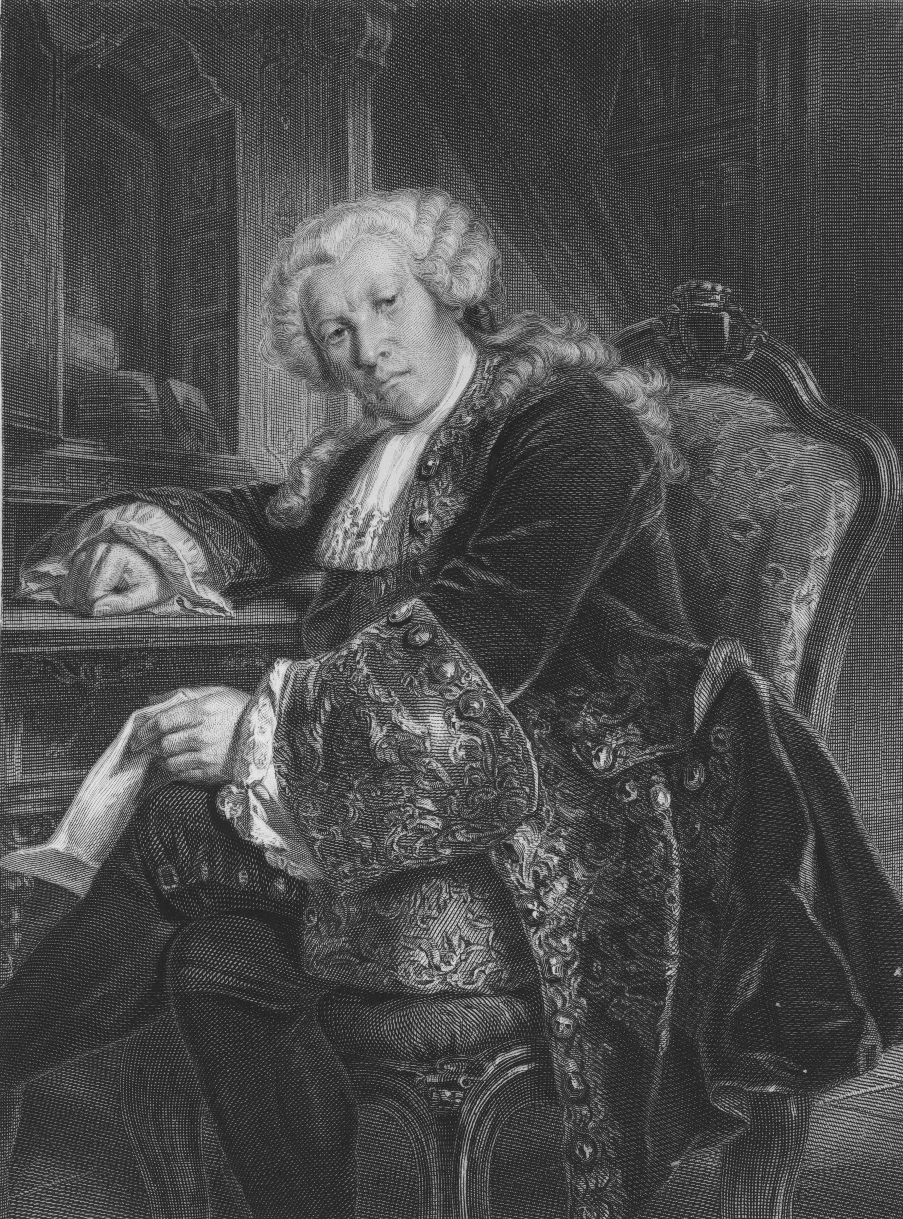 Auf dem Bild zu sehen ist Franz von Moor aus Friedrich Schiller- Die Räuber.